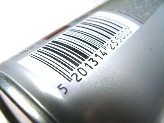 Barcode-Etikett